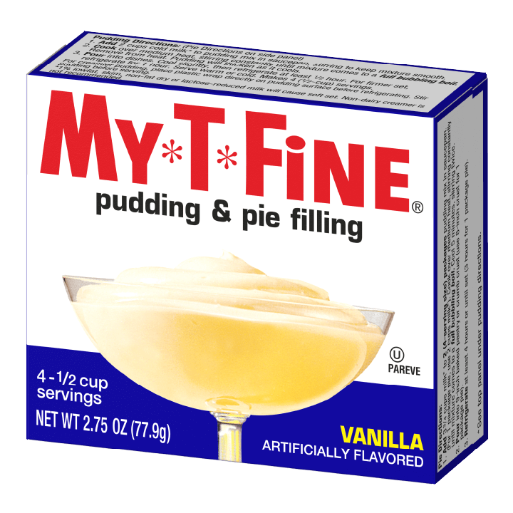 My*T*Fine – Vanilla Cooked Pudding