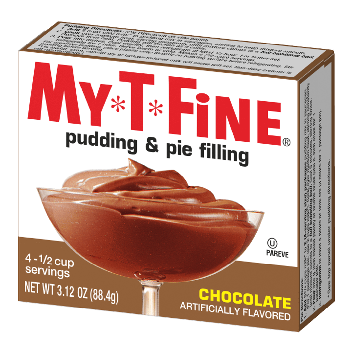 My*T*Fine – Chocolate Cooked Pudding