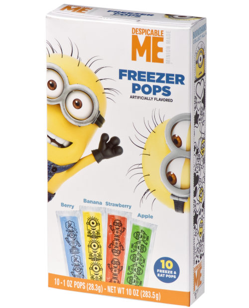 Despicable Me Freezer Pops