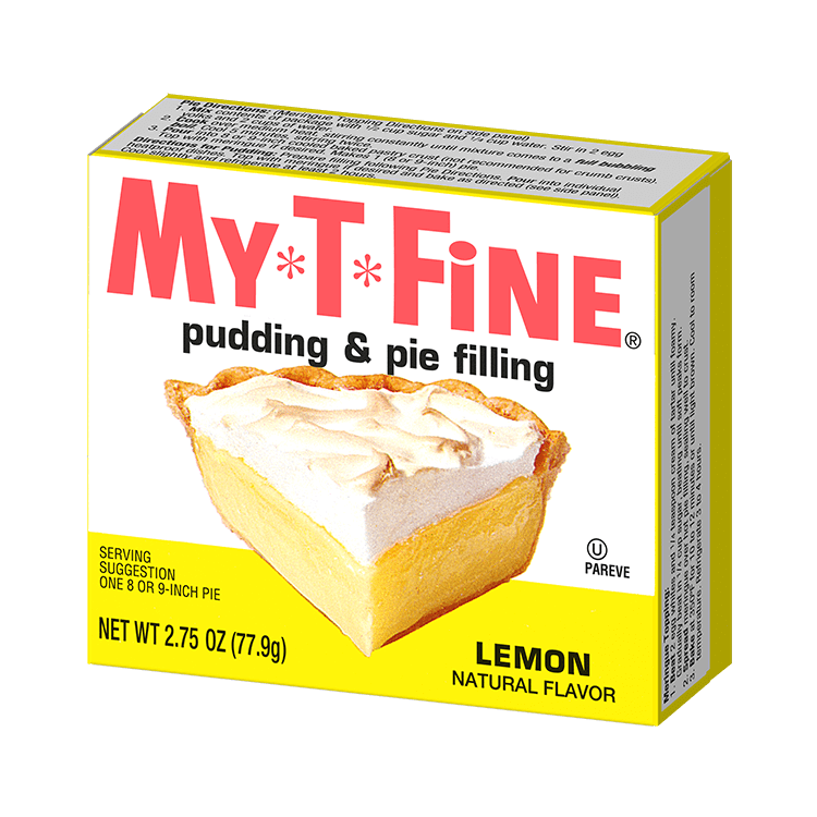 My*T*Fine – Lemon Cooked Pudding