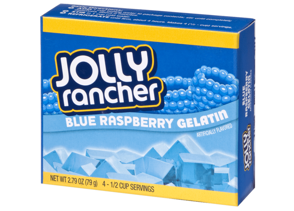 Jolly Rancher – Blue Raspberry Gelatin