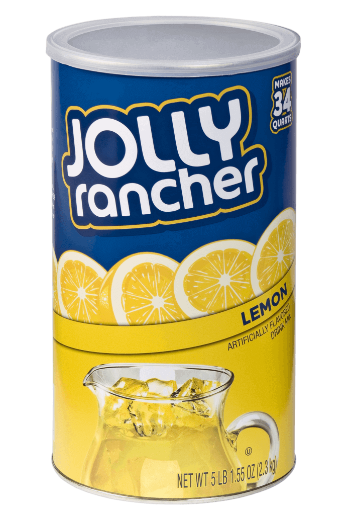 Jolly Rancher 5 LB 1.55 OZ Canister – Lemon