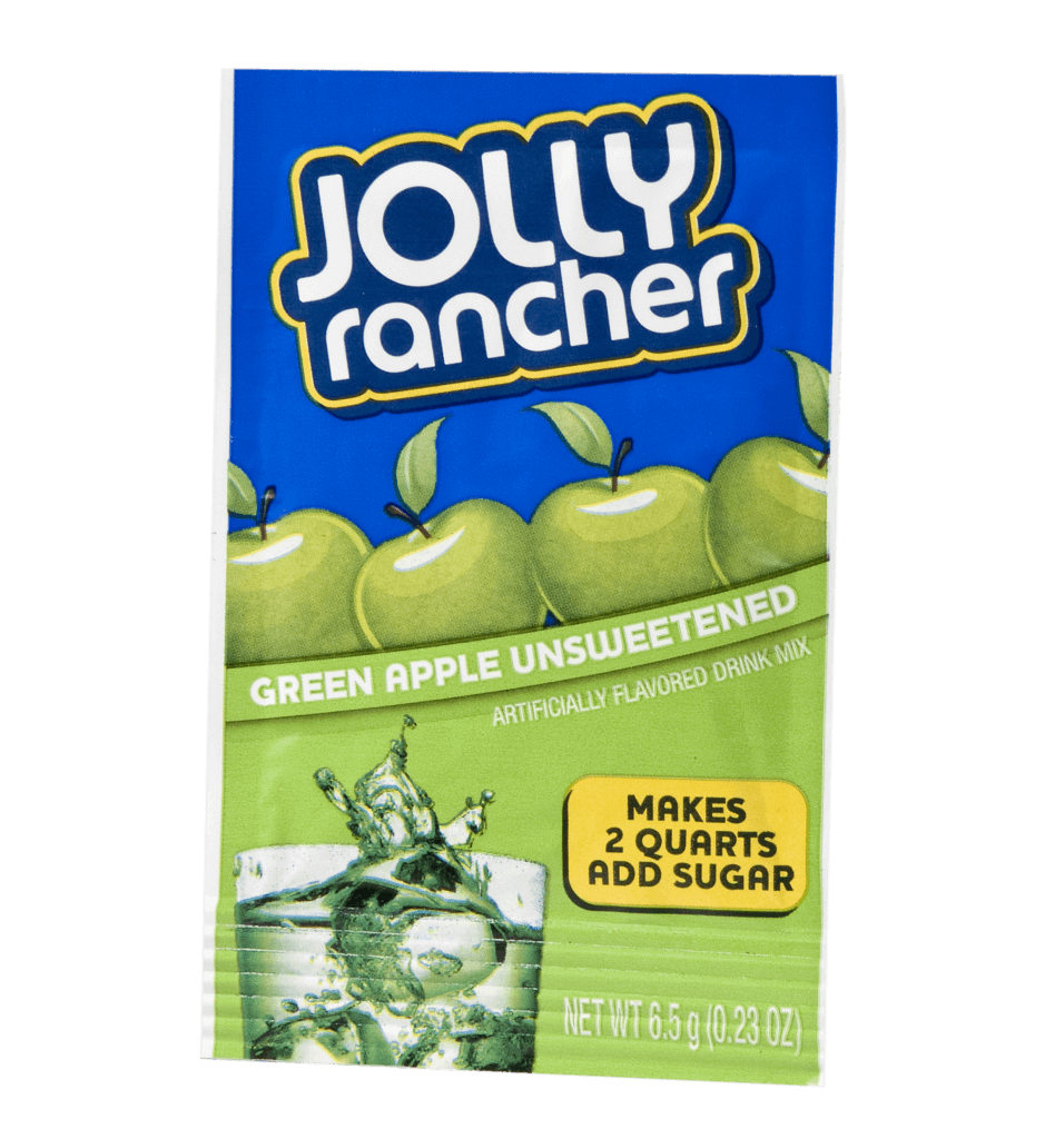 Jolly Rancher – Green Apple Unsweetened