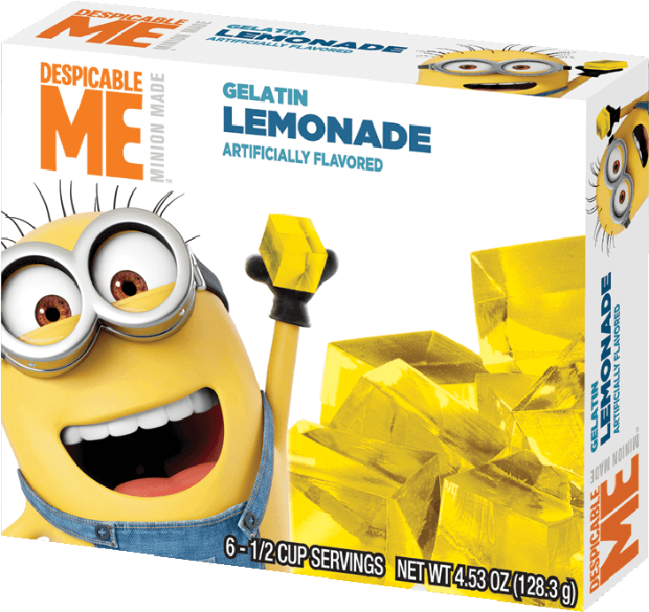 Despicable Me – Lemonade Gelatin