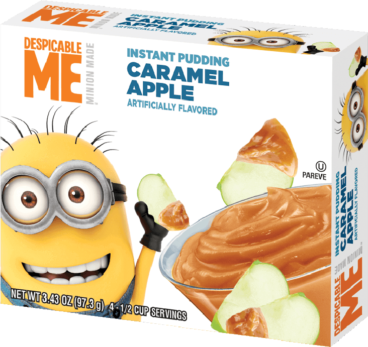 Despicable Me – Caramel Apple Pudding