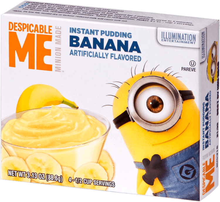 Despicable Me – Banana Pudding