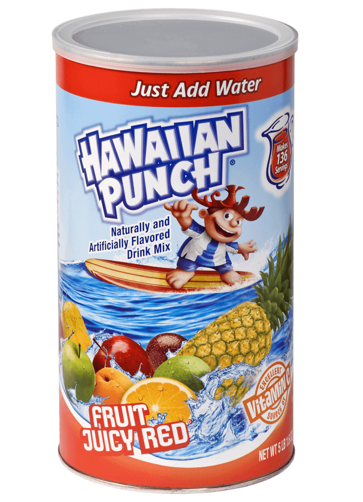 Hawaiian Punch – Fruit Juicy Red Canister