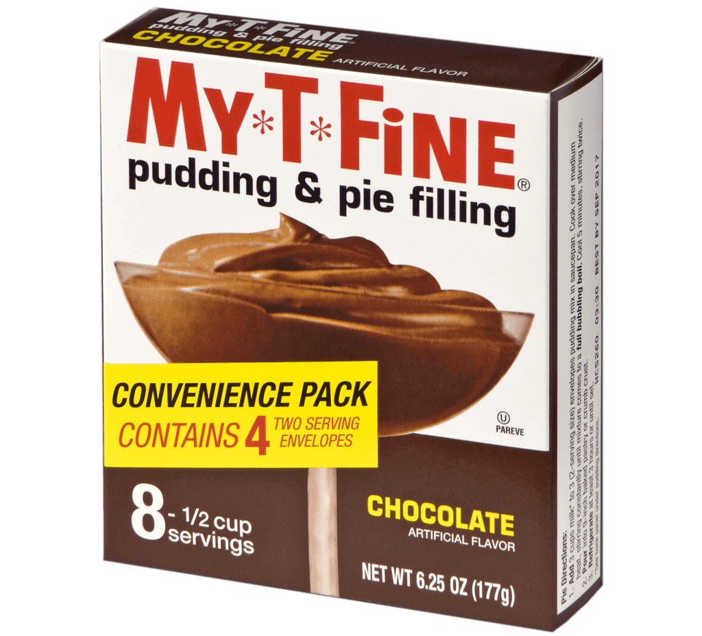 My*T*Fine – Chocolate Cooked Pudding (Convenience Pack)