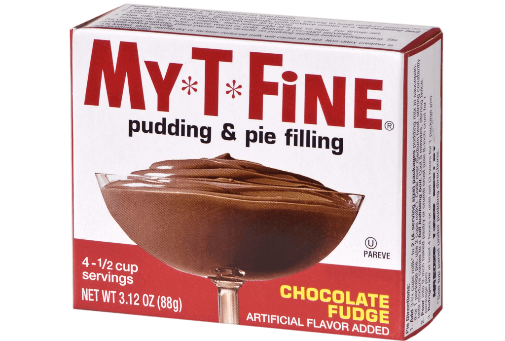 My*T*Fine – Chocolate Fudge Cooked Pudding