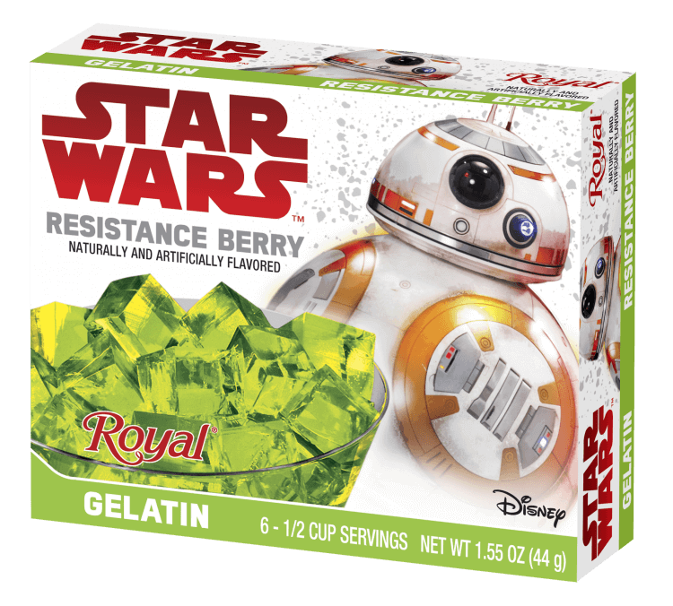 Royal Star Wars – Resistance Berry Gelatin