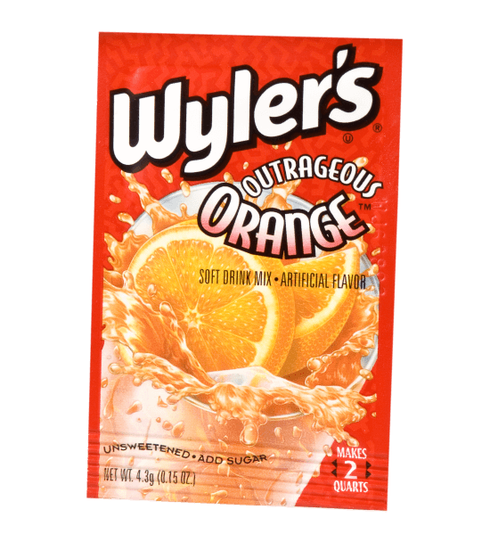 Wyler's Outrageous Orange