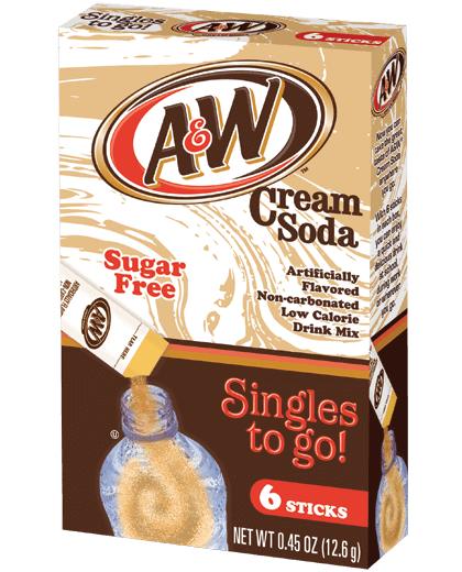 A&W – Cream Soda Singles To Go