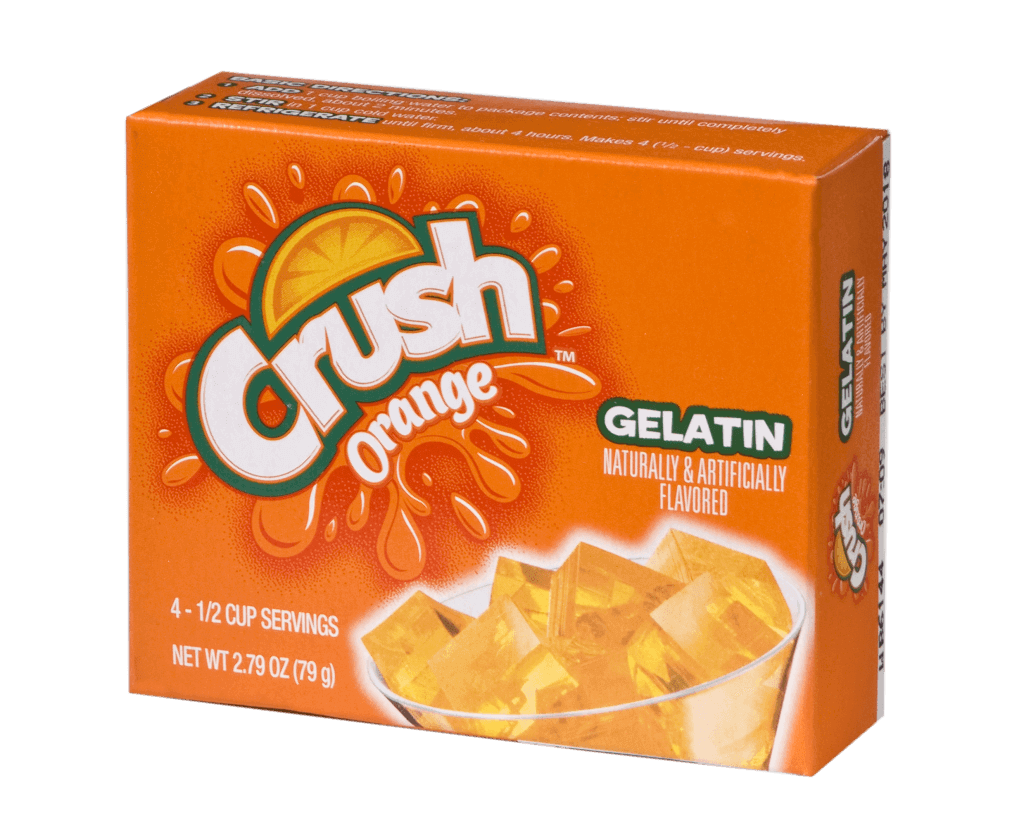 Crush Orange Gelatin
