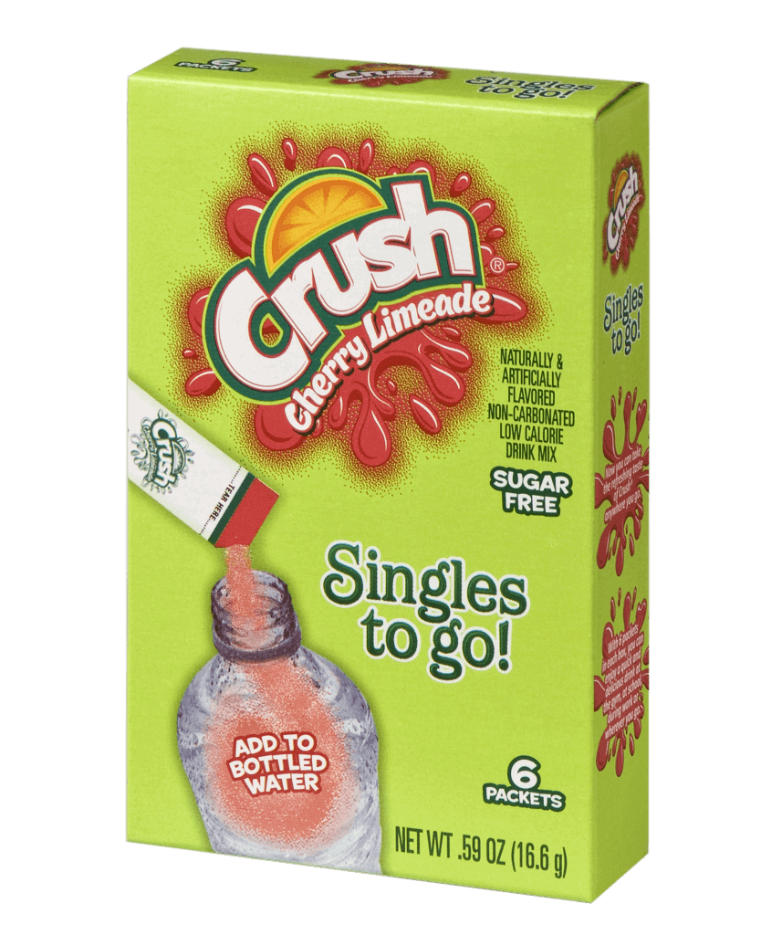 Crush Cherry Limeade Singles To Go