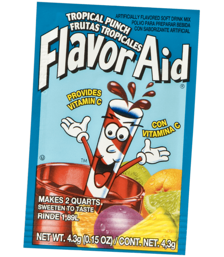 Flavor Aid Tropical Punch