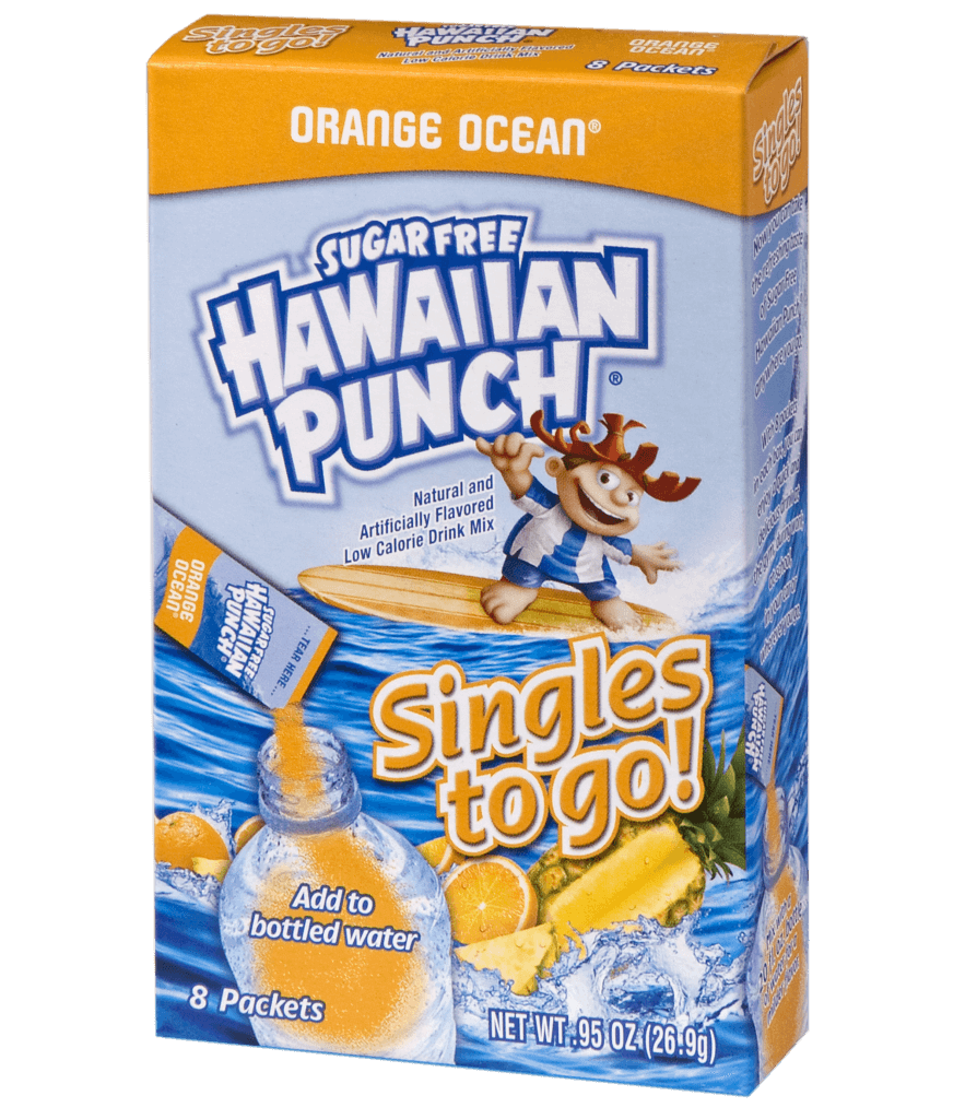 Hawaiian Punch – Orange Ocean Singles To Go