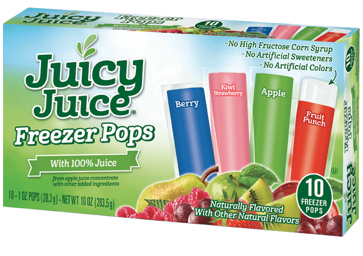 Juicy Juice Freezer Pops 10ct/1oz