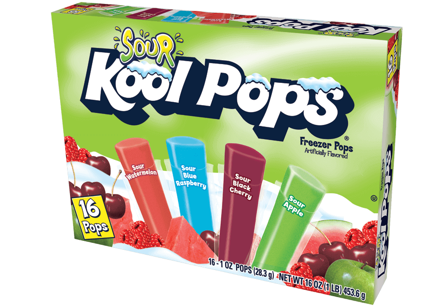 Kool Pops 16ct/1oz Sour