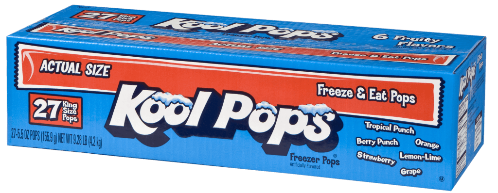 Kool Pops 27ct/5.5oz Fruity Flavors