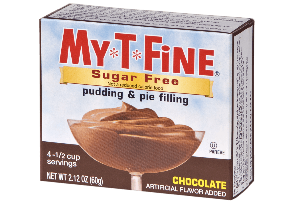 My*T*Fine Sugar Free – Chocolate Cooked Pudding