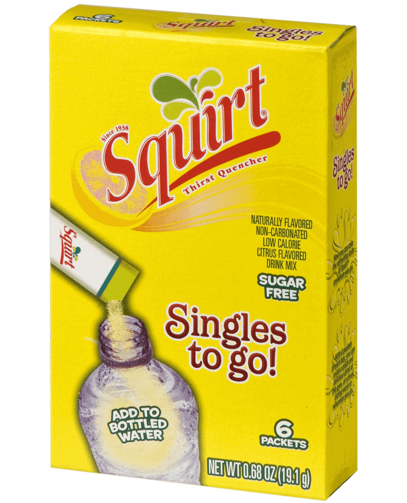 Squirt Singles To Go