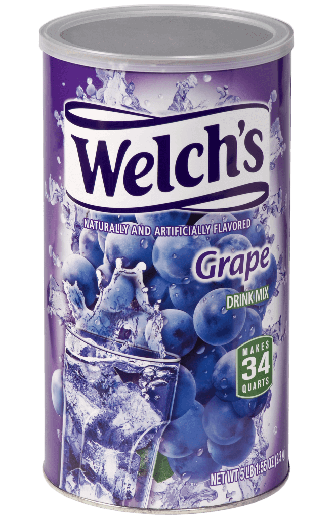 Welch's – Grape Canister