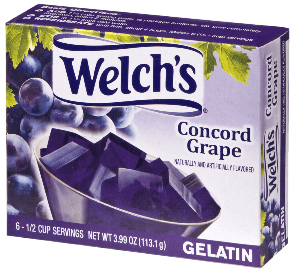 Welch's – Concord Grape Gelatin