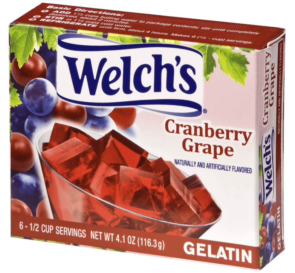 Welch's – Cranberry Grape Gelatin