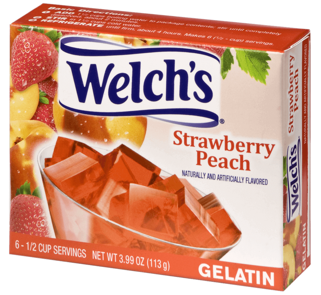 Welch's – Strawberry Peach Gelatin