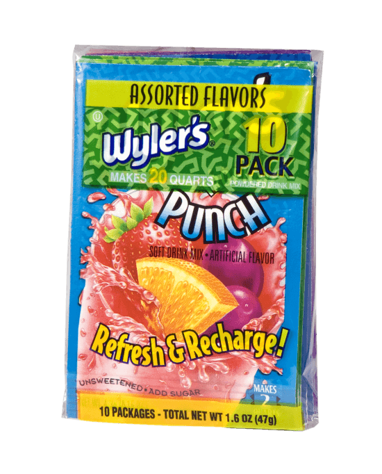 Wyler's 10ct Poly Pack