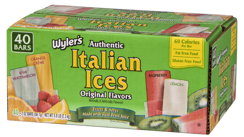 Wyler's Authentic Italian Ices 40ct / 2oz