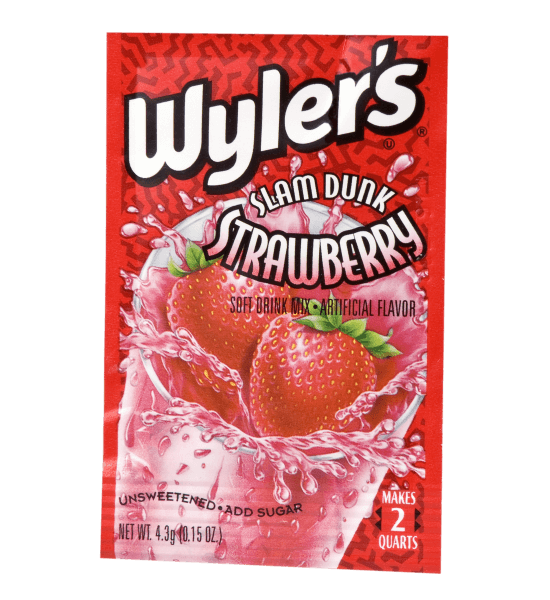 Wyler's Slam Dunk Strawberry