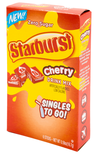 Starburst – Cherry Singles to Go