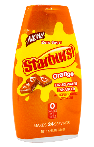 Starburst – Orange Liquid Water Enhancer