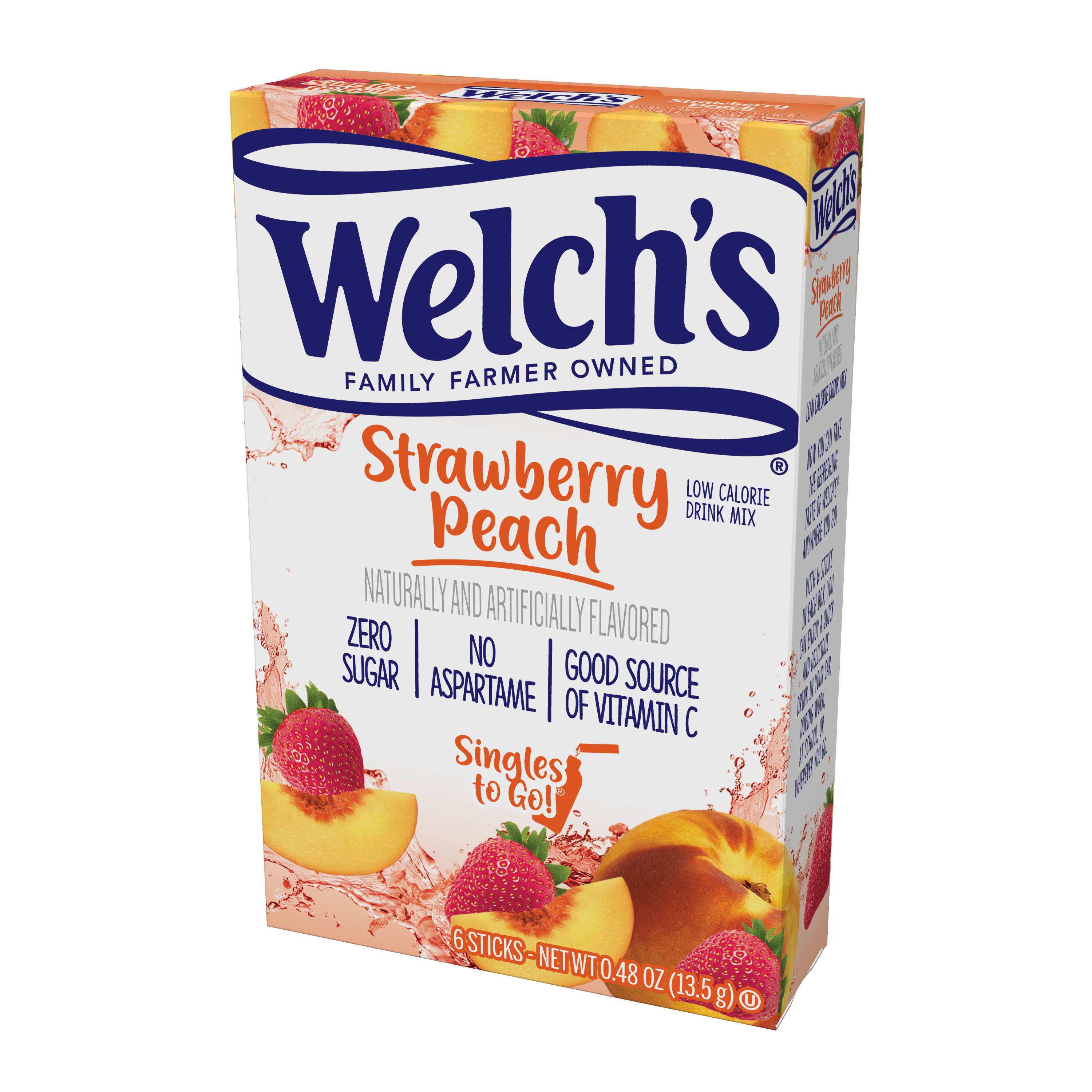 Welch's – Strawberry Peach Singles To Go