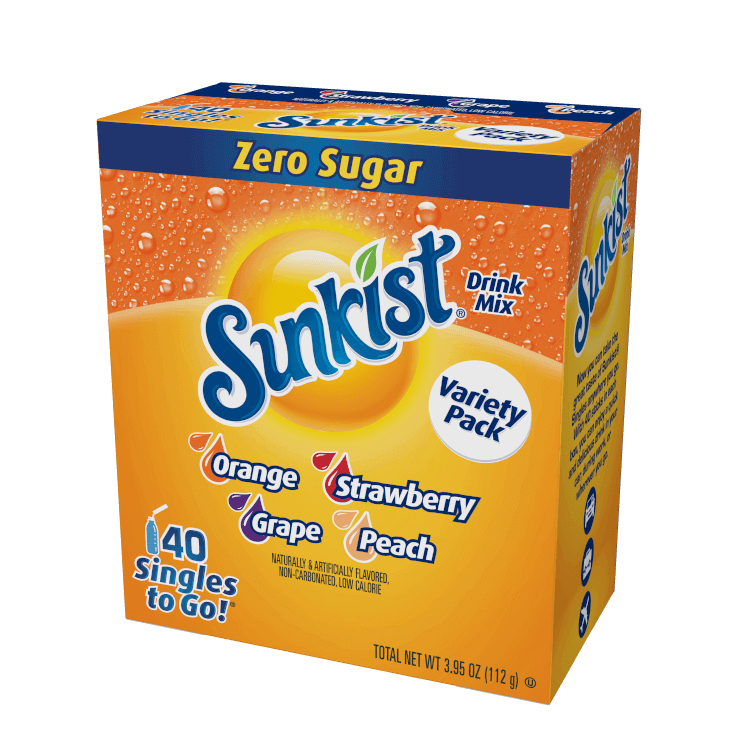 Sunkist – 40ct Singles to Go Variety Pack