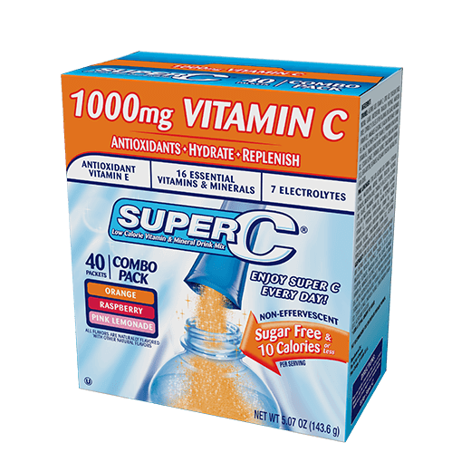 Super C –  40ct Variety Pack